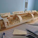 elaborate paper plane