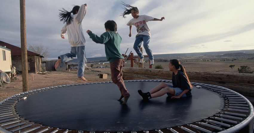 Things Invented By Kids - Trampoline by 16-Year-Old George Nissen
