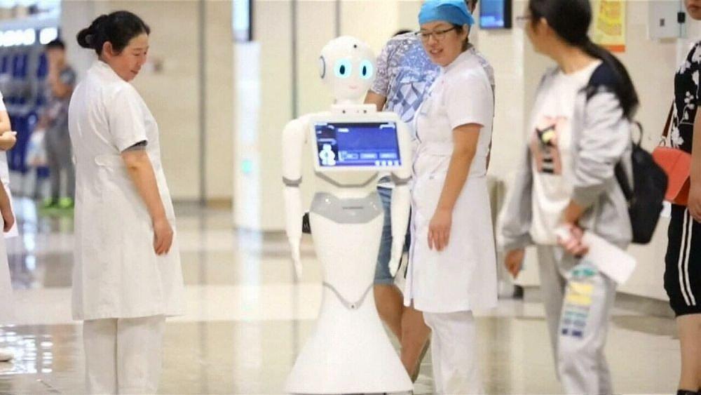 robot medical exam